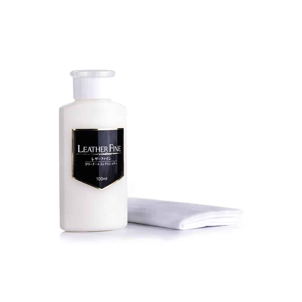 leather fine cleaner conditioner 3 new