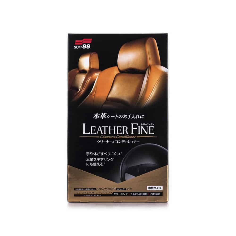 leather fine cleaner conditioner new