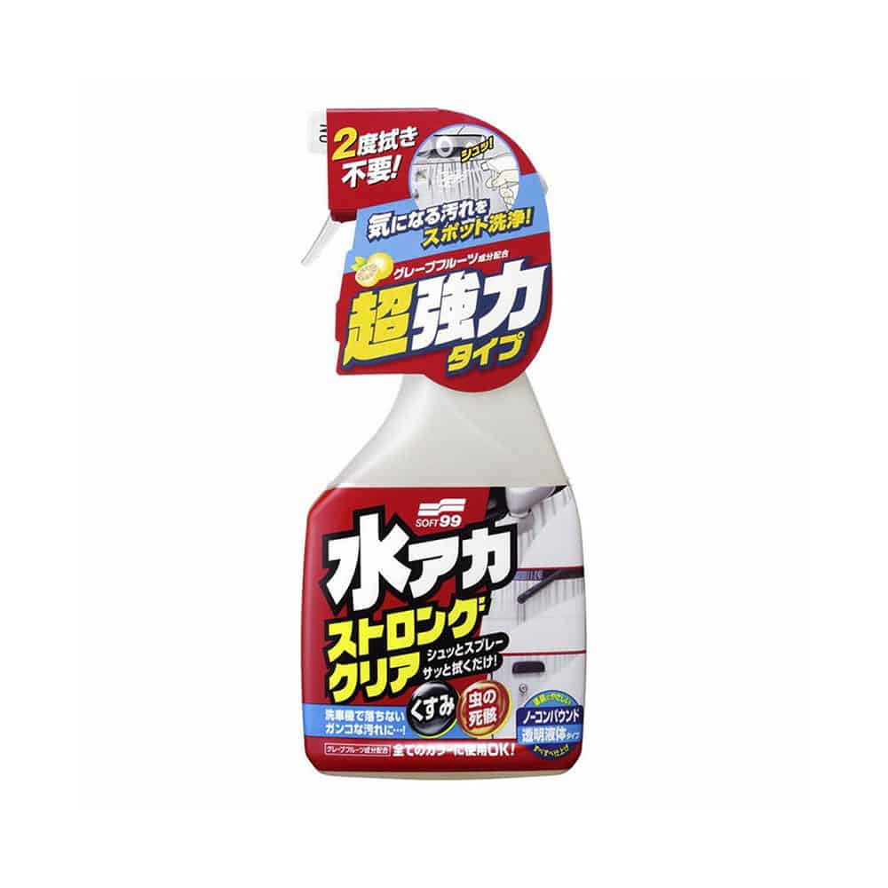 soft99 stain cleaner new