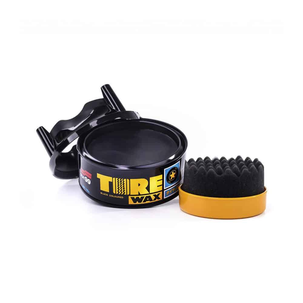 tire black wax 2 new