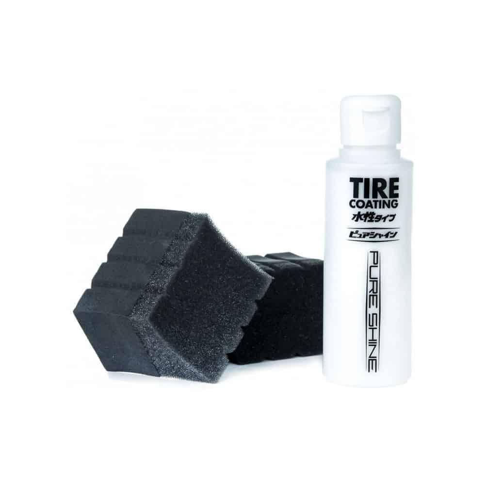 tire coating pure shine 3 new