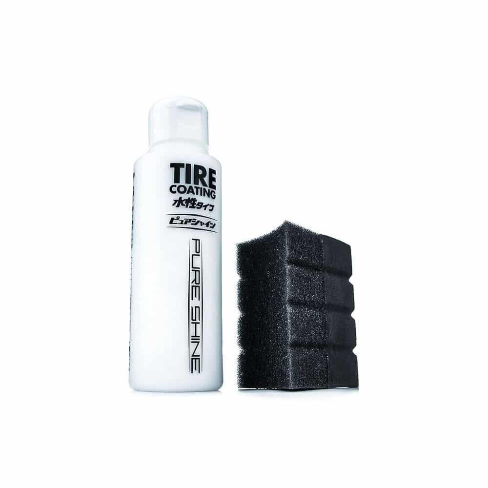 tire coating pure shine 4 new
