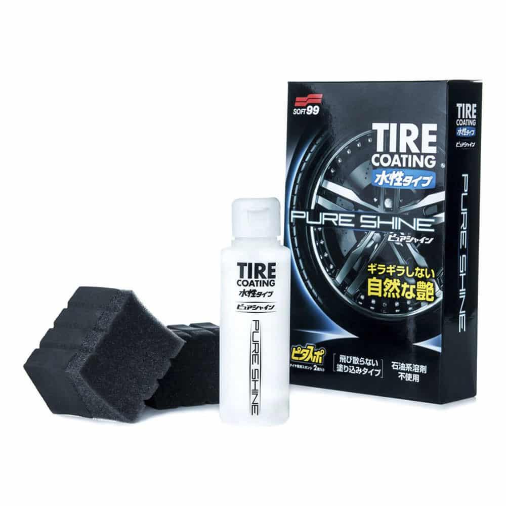 tire coating pure shine new