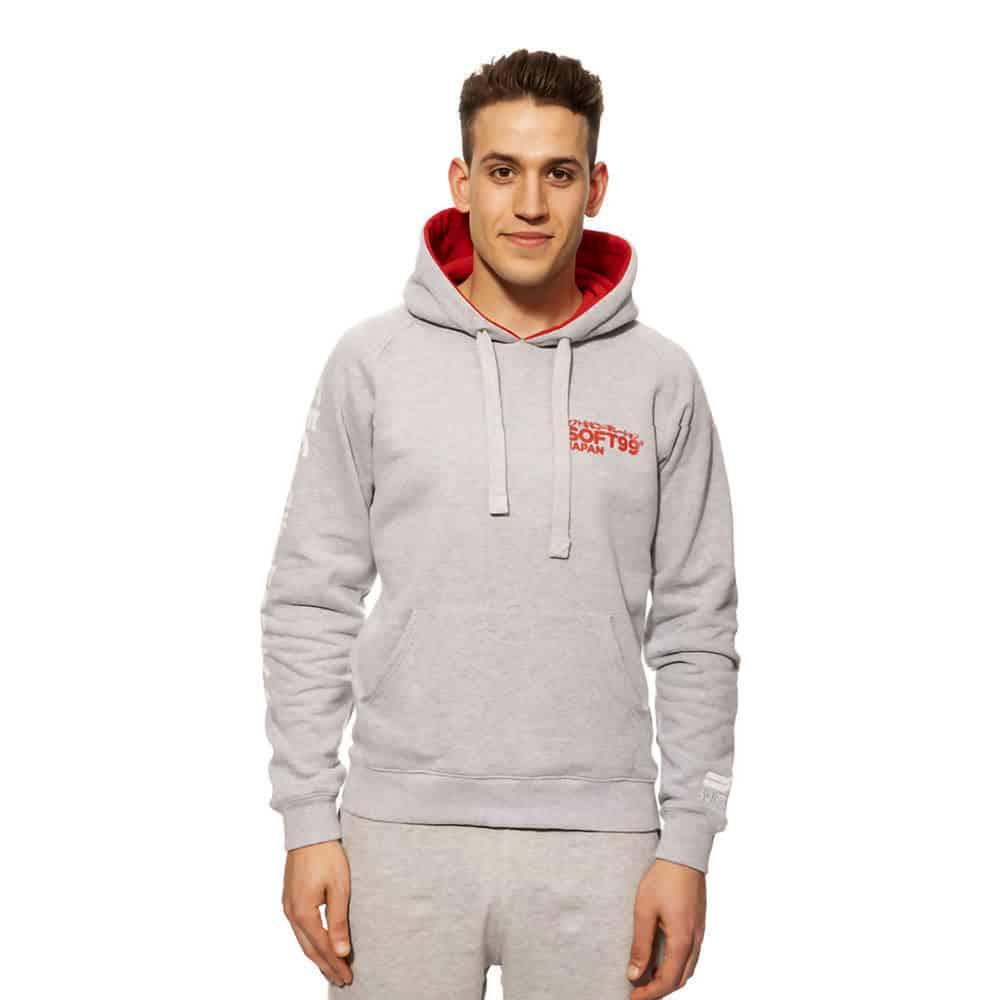 soft99 grey hoodie new