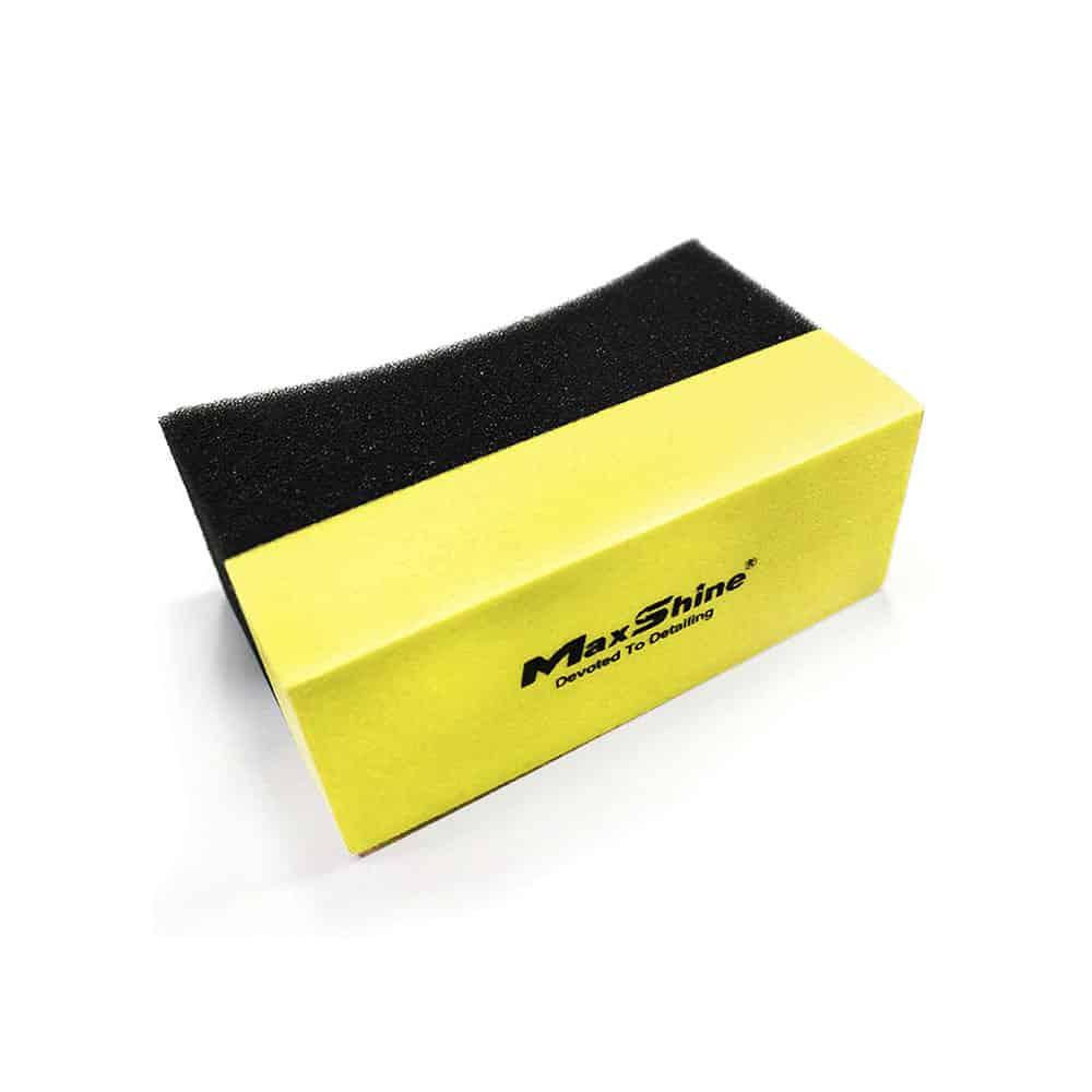 maxshine contoured tire foam applicator 1