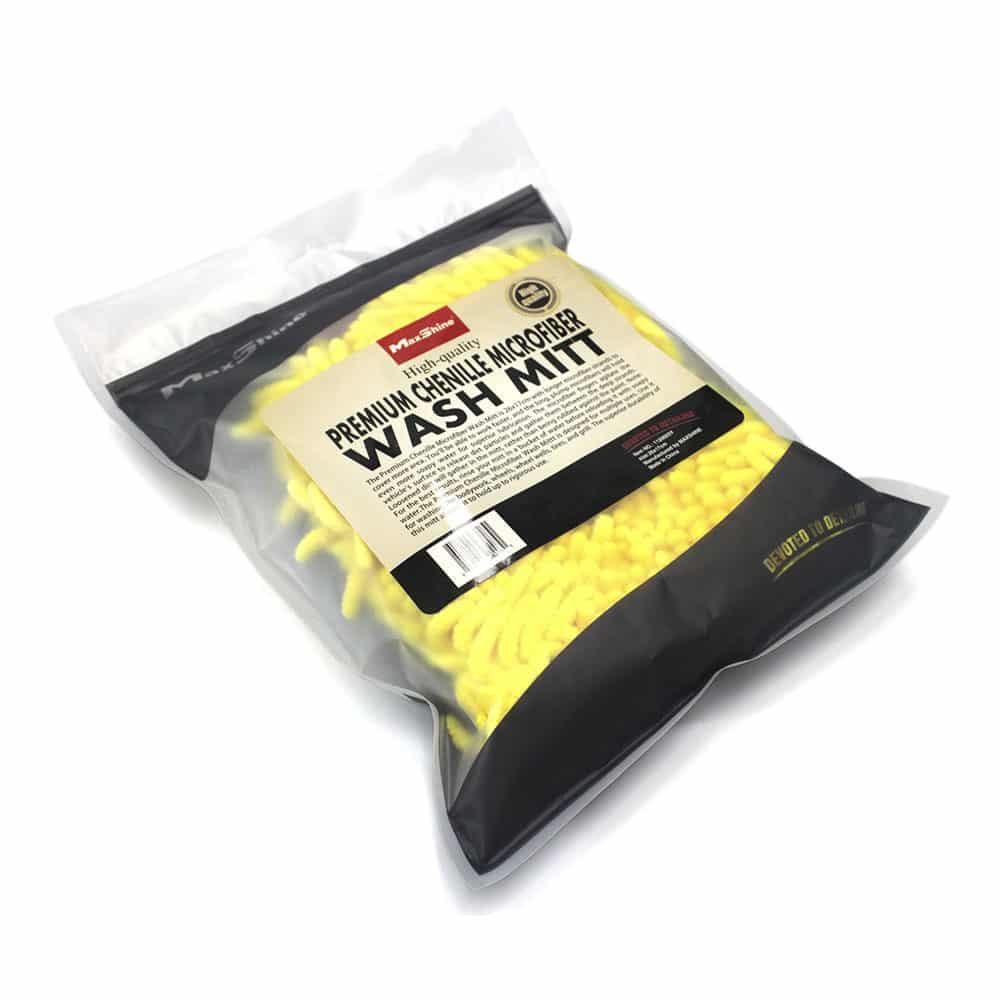 maxshine chenille microfiber wash mitt 4