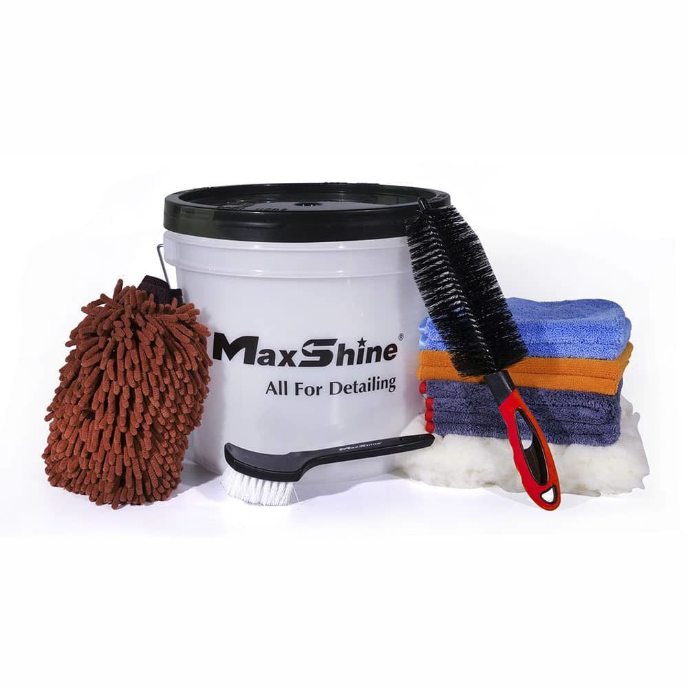 maxshine detailing bucket kit 1