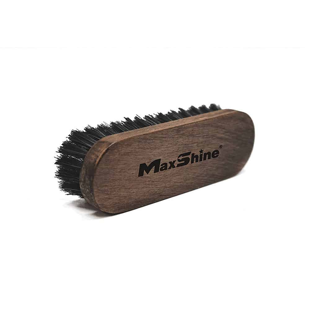 maxshine leather and alcantara cleaning brush 1